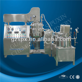SPX-vacuum cream and body lotion homogenier mixer
