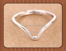 Wholesale High quality 925 Sterling Silver Simple zodiac ring Aries