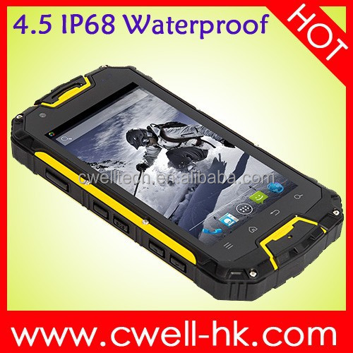 Full Functions Smartphone SNOPOW M8C The Cheap Version Waterproof Smartphone SNOPOW M8C 4.5inch MTK6572W Dual Core Smartphone