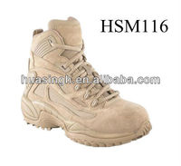 XM,khaki color camping&hiking equipment suede leather army desert land force ankle boots