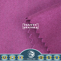 240gsm Royal Blue 100% Cotton Twill Flame Retardant Fabric For Safety Garment Workwear/ Suit /Coverall