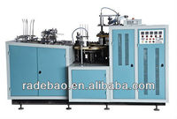 Disposable paper bowl forming machine for making take away food container
