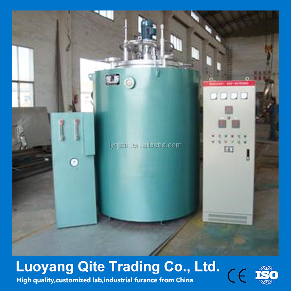 PID control intelligent Crucible salt bath quenching furnace