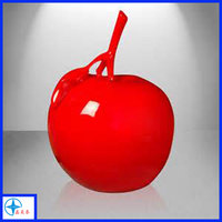 Modern art decorative resin sculpture red Mela