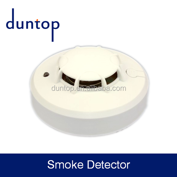 EN and UL approved Analogue Photoelectric Addressable Smoke Detector for indoor use