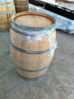 Reconditioned toasted french oak-wood used barriques