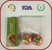 GMC/FDA/EPI/SGS/ROSH/REACH food grade plastic blanket zipper bag