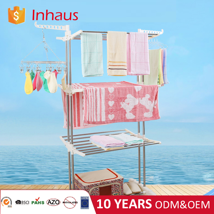 New arrival Folding Laundry dryer rack Foldable clothes rack