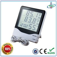 2015 China Wholesale Cheap Multifunction LCD Table Clock With Thermometer