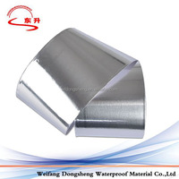 One side self adhesive bitumen waterproof membrane tape with aluminum foil with 1.5mm thicknesss