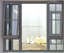 single glazed aluminum awning windows for building