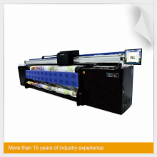 Korea Keundo 3.2m M3200-TX6 textile printer with cartridge system/air degassing units/post heaters