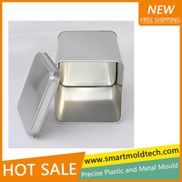 Custom square tin box punching molds making china