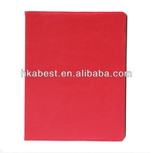 South Korea Style Leather Cover for iPad 4,New Produtcts For iPad 2/3/4 leather Smart case