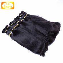 qingdao factory wholesale european hair pieces remy hair bulk in stock on sale