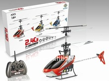 2.4G 4CH remote control RC Metal/alloy Helicopter With Gyro