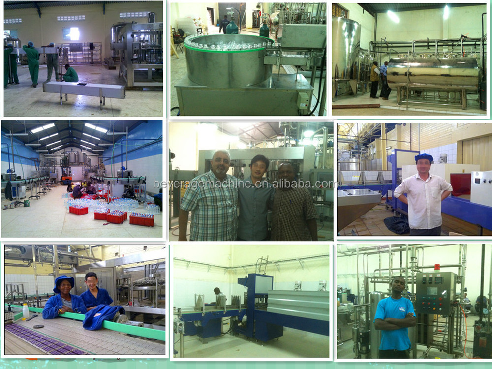Automatic Fruit Juice Hot Filling Machine/Production Line For Bottle