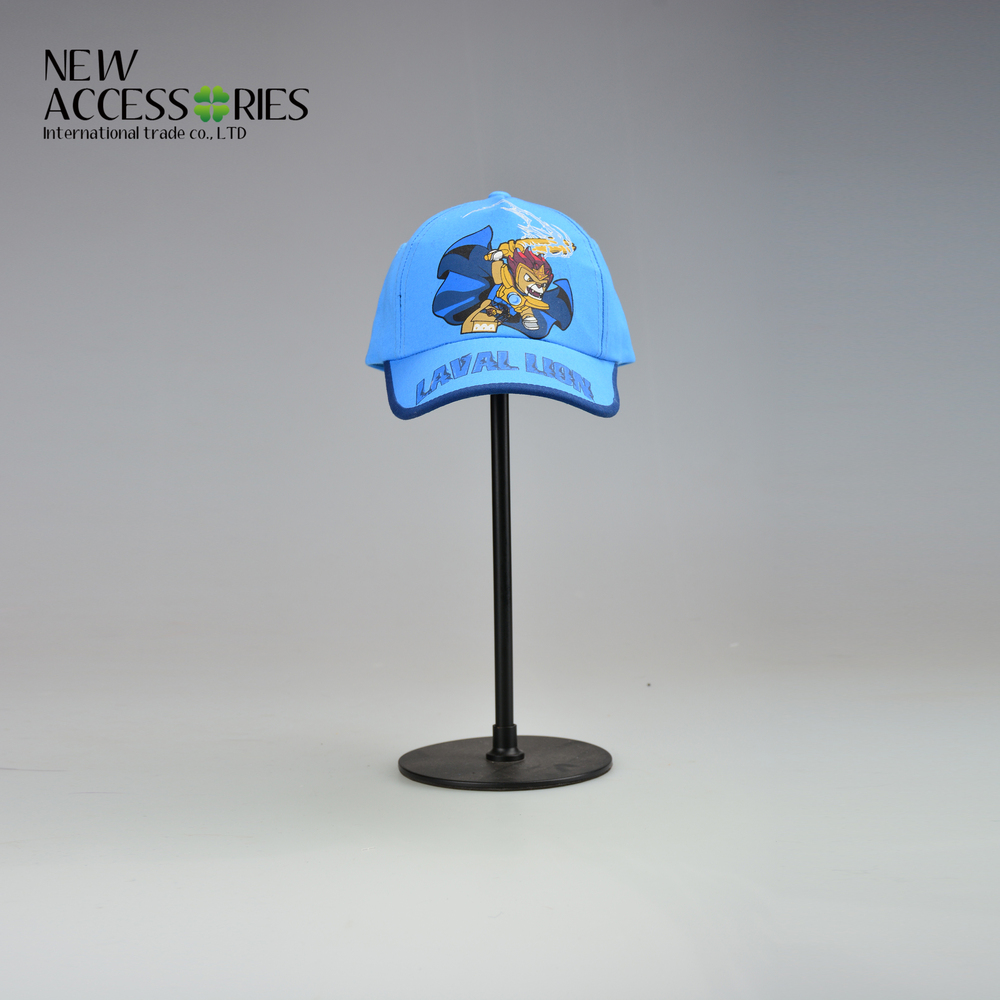 boy's photo print cotton baseball cap