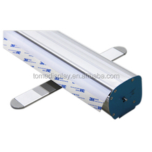 High quality roll up screen banner stand,pull up banner display stand in guangzhou