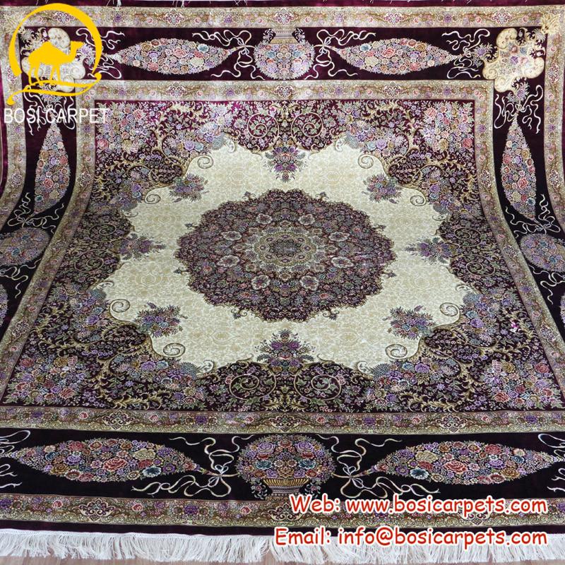 grossiste hereke tapis soie acheter les meilleurs hereke With tapis chambre bébé avec fleur en soie grossiste