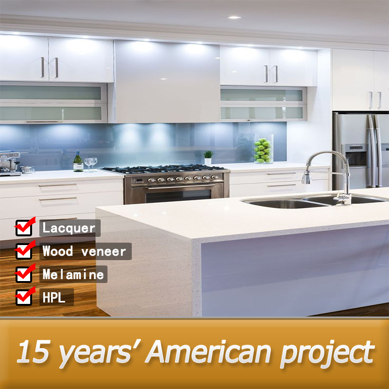 Wholesale integrated white high gloss kitchen unit buy for White gloss kitchen units cheap