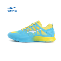 ERKE hot sales action mens sports shoes bright color running shoes with TPU mesh upper for dropshion in china