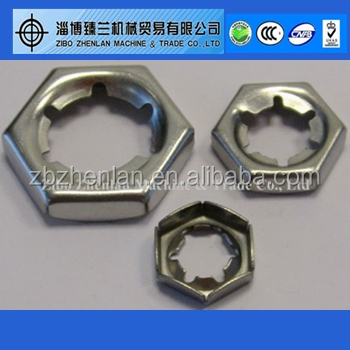 Stainless Steel DIN7967 Self-locking Counter Nut M27 M42 M45