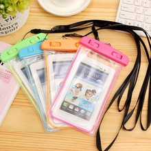 2016 Factory Transparent IP67 Mobile Phone Waterproof Case, PVC Waterproof Bag