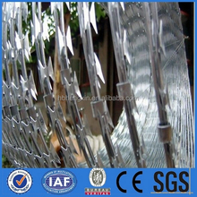 2015 Direct factory price!!! Gi Razor barbed wire on ship for anti piracy 18-year certified professional factory