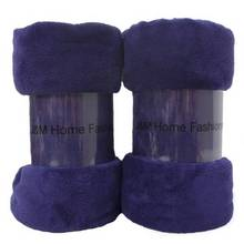 high quality wholesale anti pill knitted throw military blanket