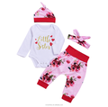 Hot style pure cotton baby girl children's suit wholesale.