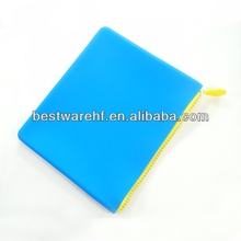 funny silicone zipper for Ipad 2 2014 band new silicone case for tablet 9.7
