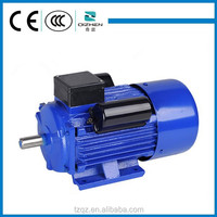 YL Single Phase Electric Motor Specifications