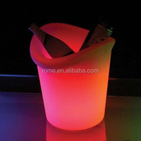 LED Ice Bucket/ Wine Bucket/ Champagne Cooler for party