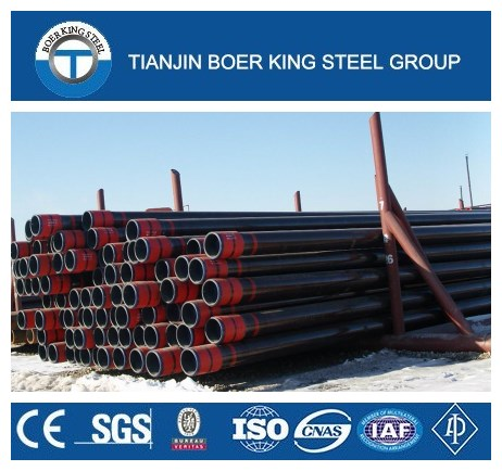 API Spec. 5CT J55 N80 P110 Seamless Casing Pipe, Oil Field Casing and Tubing Steel Pipe