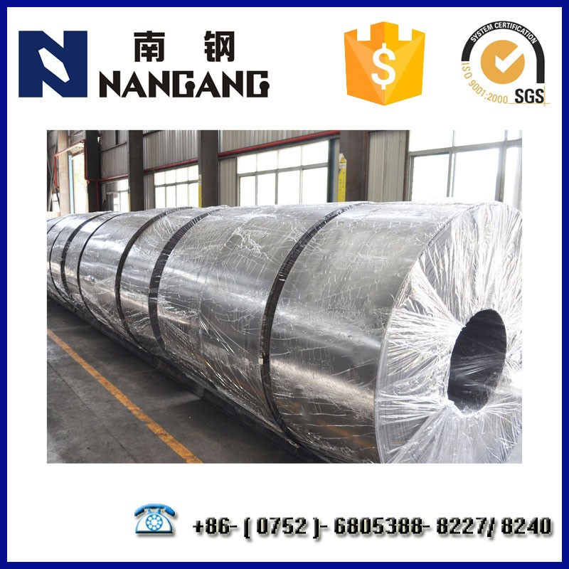 Low Price Cold Rolled Carbon Steel (SPCC Q195) Galvanized Steel Strip for Construction