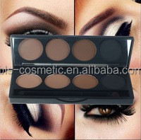 4 Colors Waterproof Eyebrow Powder Kit Make Up Own Brand Name