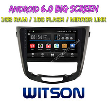 "WITSON 10.2"" BIG SCREEN ANDROID 6.0 AUTO RADIO DVD PLAYER GPS FOR NISSAN X TRAIL MIDDLE HIGH 2014"