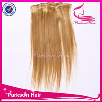 clip-in hair extension yaki style quad weft clip in hair extension top grade peruvian clip in human hair extension
