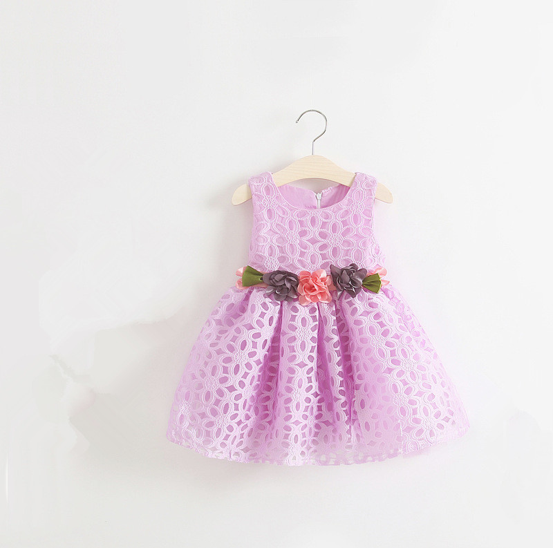 B10033A high quality beautiful girls' dress children dress baby dress