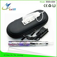Luxury edition kit electronic cigarette ego-u with ce4 atomizer & health big vapor ego-u 1100mah