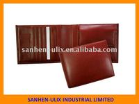 Men's wallet, made of genuine leather , available in various colors and sizes