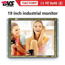 Large square screen 19inch open frame LCD monitor With metal case IR touch
