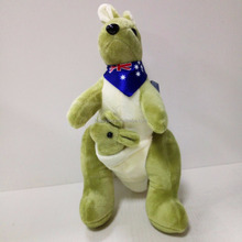 HI CE and EN71 hot sale adult plush kangaroo toy and cheap custom stuffed toy