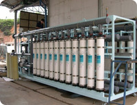 industrial UF Ultrafiltration filter hollow fiber membrane water treatment system equipment