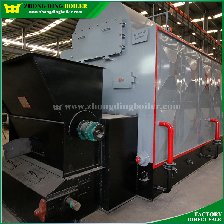 DZL Series 3 Pass Industrial Pellet Coal Steam Boiler for Rice Mill