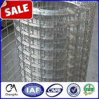 Factory Directly Sale Cheap Galvanized Welded Wire Mesh Panels / Rolls for India