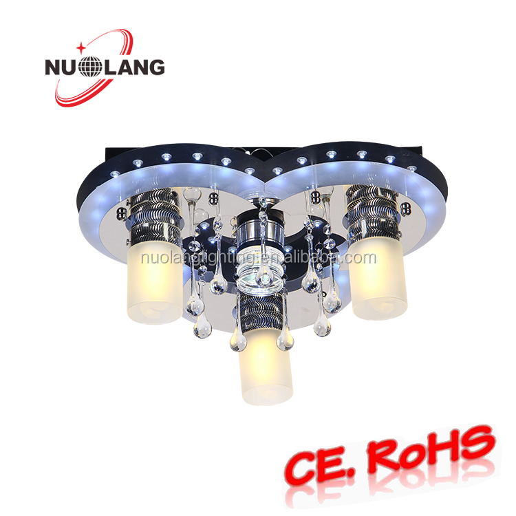 Newest design high quality led crystal ceiling light