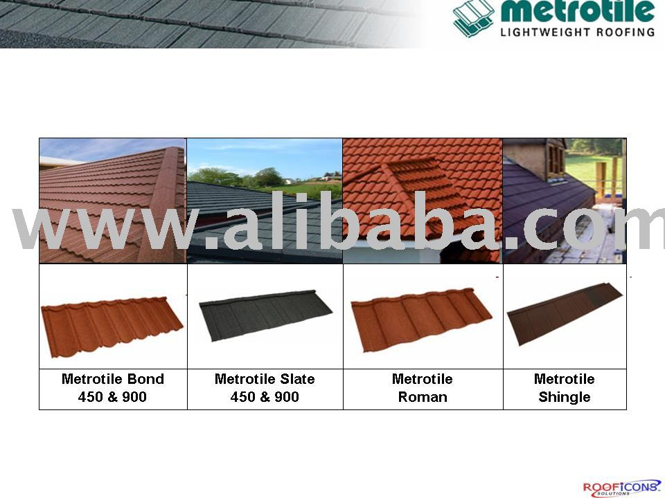 METROTILE STONE COATED ROOF TILES