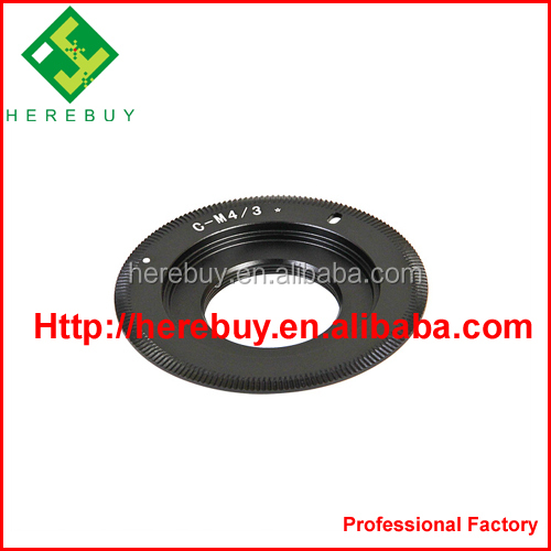 C movie Lens Adapter C-M4/3 C mount to M4/3 C Movie Lens to Micro 4/3 m4/3 Adapter Ring